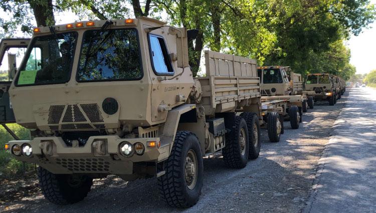 Argentinian Army Logistic